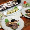 ◆ラム肉ソテーのブルーベリージャム♪~ゆるやか糖質制限♪