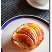 アーモンド香るりんごトースト