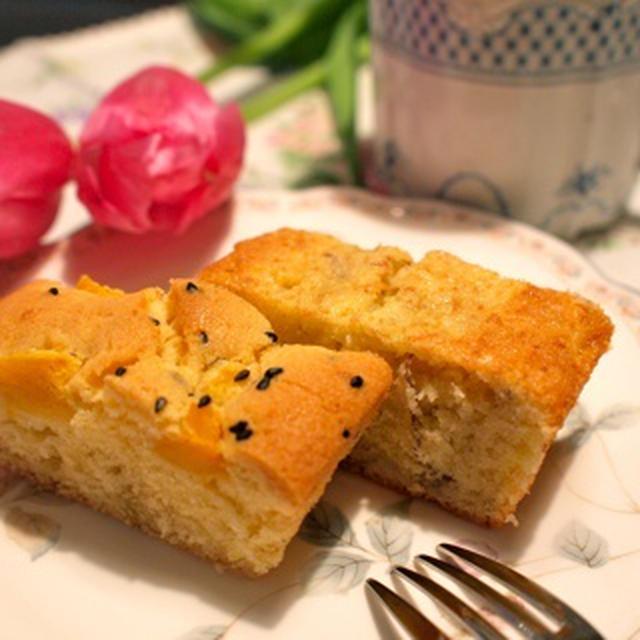 手羽元のシンプルロースト&手作りパウンドケーキ2種