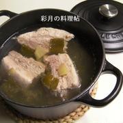 塩味の豚の角煮(塩チャーシュー)