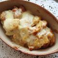 鶏肉とポテトの味噌チーズ焼き by えんさん