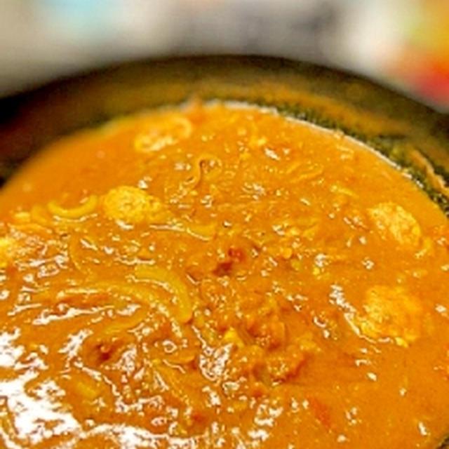 中華鍋で作る★鶏団子カレー