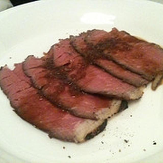 ローストビーフを簡単につくるには&ダイエットワンポイントアドヴァイス