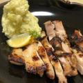 【酒粕レシピ3】鶏もも肉のグリル酒粕漬け