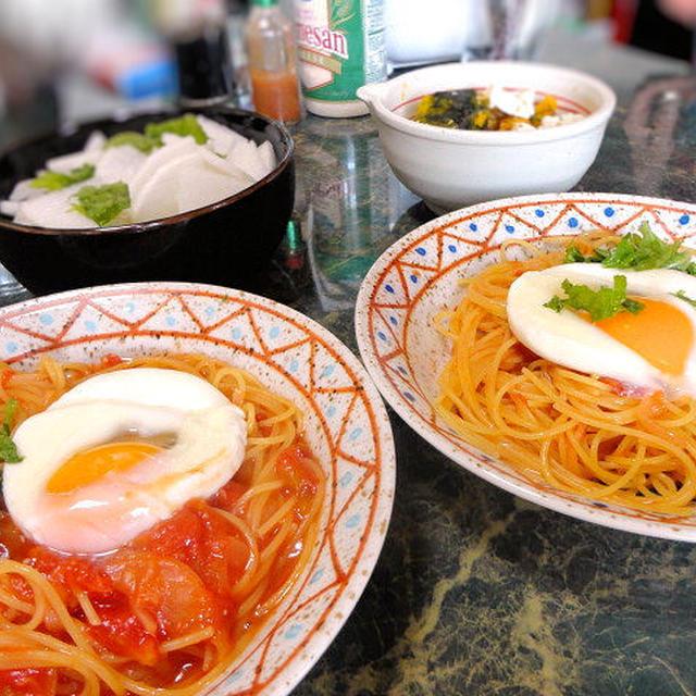 7月9日☆夕飯ではなく珍しく昼ごはんのUP☆月曜日は世間様の日曜日☆簡単昼食だよ