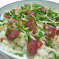 薬味たっぷり~鰹の手こね寿司♪ by ei-recipeさん