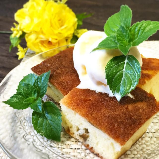 簡単梅シロップ活用法~♪&ホットケーキ