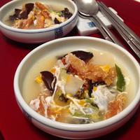 ★干しタラのスープ(美肌と二日酔いに最高♪)