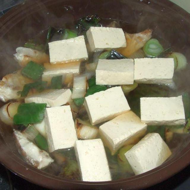 鯛の塩鍋と箸休め二品