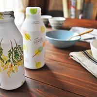 キリンビバレッジ 可愛い麦茶➕ハーブのドリンクボトル(ロハコ) 今朝の朝ごはん