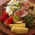 ホットケーキミックスでつくる、ダッチベイビー風カフェご飯☆簡単、卵なし、フライパンのランチレシピ