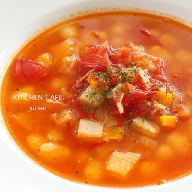 フレッシュトマトスープ