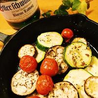 クミンシードで夏野菜のオーブン焼き♡お弁当にも良いかも!
