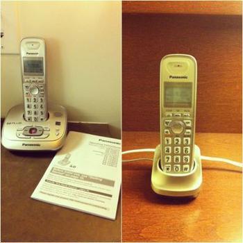 パナソニックのコードレス電話