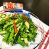 好きな野菜と香りソルト、オリーブオイルでと〜ってもおいしいサラダ
