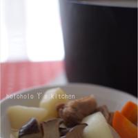 鶏肉と冬野菜のポトフ風鍋