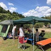 キャンプ二日目♪