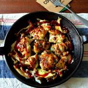 【簡単!!】鶏ときのこのうまトマチーズ焼き*うまソースモニター企画募集しています