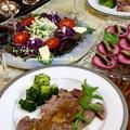 ◆TVの得損を参考にステーキのおうちごはん♪~ゆるやか糖質制限中♪