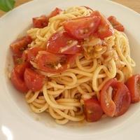 ★トマトの冷えパスタ