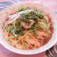 タバスコを使った簡単麺料理