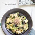 【卵胞期】レシピ⑤ 鉄分補給♪あさり缶とゴーヤのチャンプル