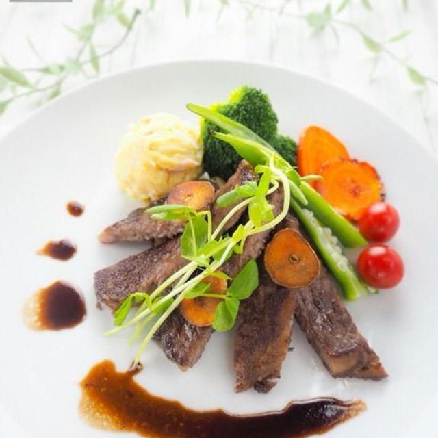 【レシピ・献立】バルサミコ酢ソースのステーキ