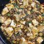 スキレットで熱々麻婆豆腐+中華スープ
