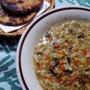 村からのお土産スープの具(乾物)結構便利