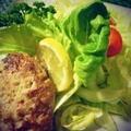 【まいにちゴハン】絹ごし豆腐と白菜の和風ハンバーグ。