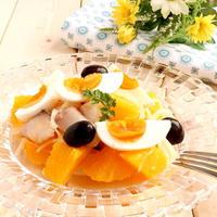 【ヨーロッパのおそうざい】 アンダルシア風オレンジのサラダ ~ レモホン(Remojón)