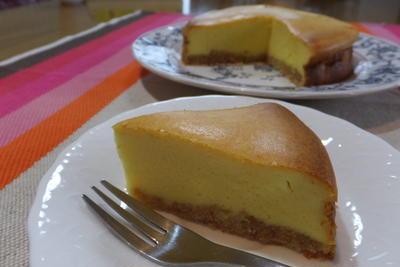 簡単、濃厚チーズケーキ♪