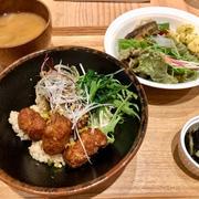 【池尻大橋】リマ食堂 サラダバーおかわりOK 日替りランチは1,000円 リマクッキングスクール