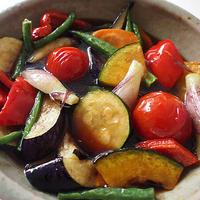 夏野菜の揚げ浸し〈ヤマキだし部〉