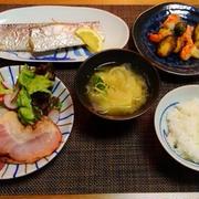 ぴかぴか太刀魚の思い出☆芽キャベツと海老のソテー♪☆♪☆♪