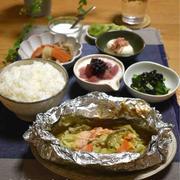 【レシピ】ホイル包み✳︎野菜も美味しい!鮭のちゃんちゃん焼き✳︎ほっこりおかず✳︎