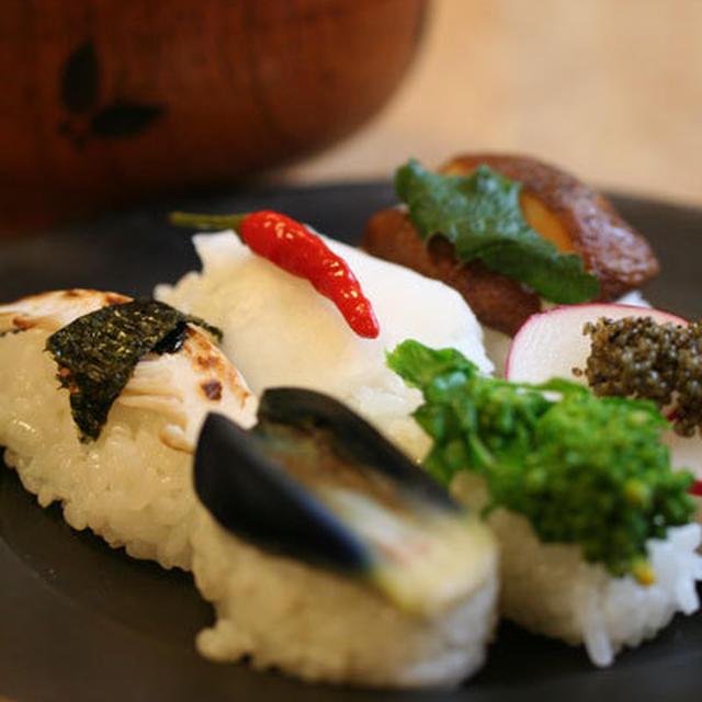 祝・旧暦新年「ベジ寿司」