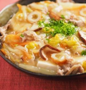 豆腐のとろとろ白菜あんかけ 、 「My Favorite BREAKFAST かんたん・おいしい朝食レシピ」