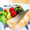 簡単☆鮭のガーリックソテー☆お弁当にも♪