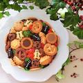 掲載レシピ*クリスマスケーキとジンジャーブレッドマンのお寿司 ♪ くらしのアンテナ