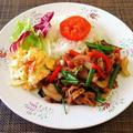 牛肉と野菜のガラムマサラ炒め♪~♪