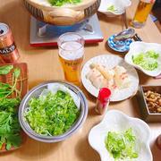 魚介の白味噌鍋で!週末ごはん