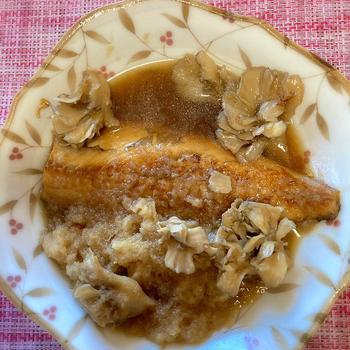 焼きさばのおろし煮、ハンドメイド、チワワ