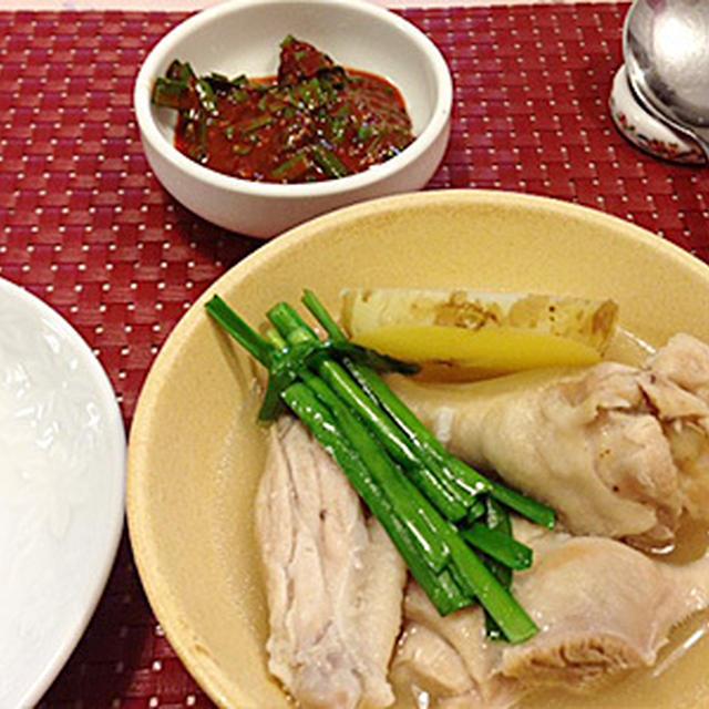 タッカンマリ(韓国風水炊き)
