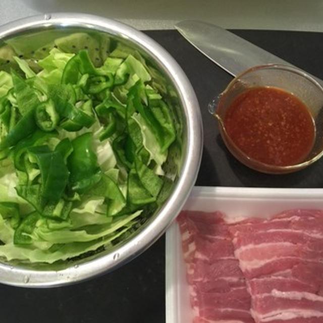 ごま油注意報(回鍋肉、サンラータン、ニラチヂミ)