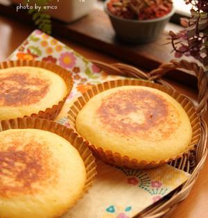 ボール1つde簡単 ふんわりチーズ蒸しパン☆