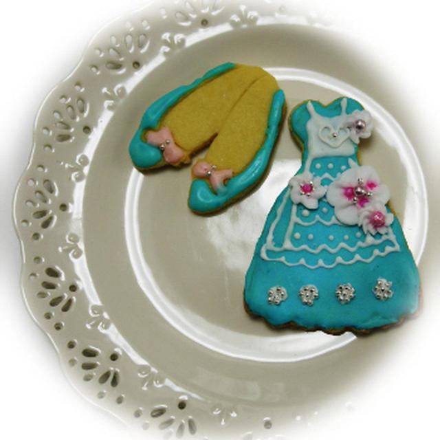 * ガーリーなアイシングクッキー♪