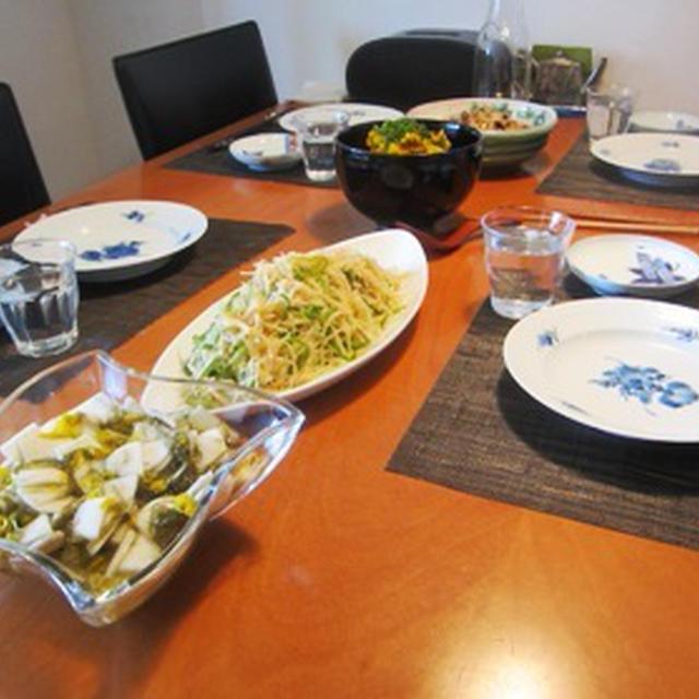 9月のお料理サロン-秋の定番&創作おばんざい