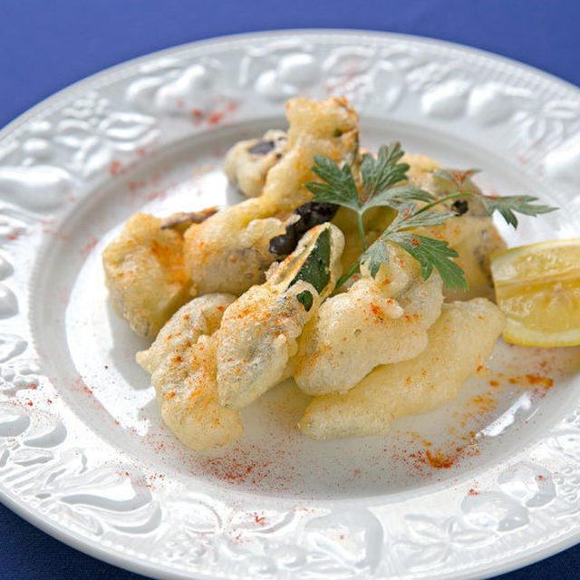 ナポリ風 野菜のフリット 中原 弘光シェフのレシピ