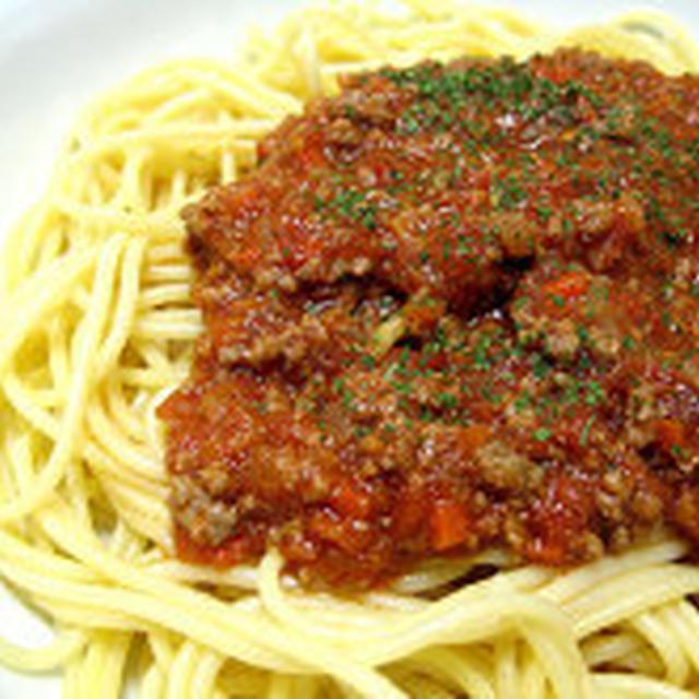 Salsa di Borognese (Casa cucinando) 簡単ミートソースレシピ